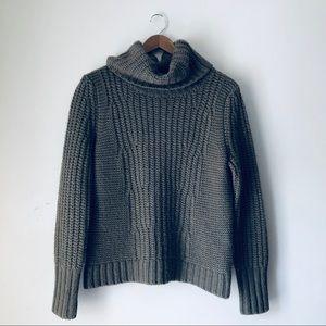 Banana Republic Italian Yarn Turtleneck Sweater